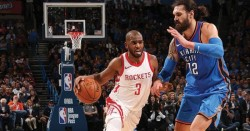 Rockets y Warriors, 50 triunfos; ganan Trail Blazers y Pelicans (Resumen)