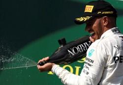 Hamilton refuerza su liderato al ganar por quinta vez en Hungría
