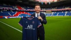 Messi fue presentado como nuevo jugador de París Saint-Germain