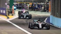 Hamilton vuela y Mercedes copa la primera fila en el adiós a Alonso