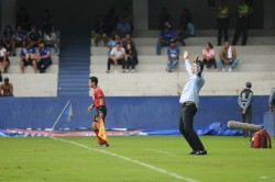 Ismael Rescalvo se pronunció tras el amistoso contra Guayaquil City