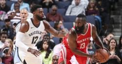 Los Rockets de Harden y Paul dominan a los Grizzlies de Marc Gasol (Resumen)