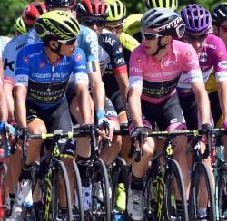 """Chaves: """"Así es el Giro, tengo una relación amor-odio con esta carrera"""""""