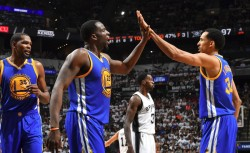 Warriors admiten que bajas de Spurs ayudaron a llegar invictos a las Finales