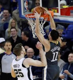 (107-117) Thompson y los Warriors hunden a los Suns