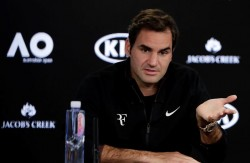"""Federer: """"No creo que un jugador de 36 años sea favorito"""""""