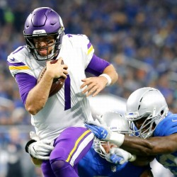 Vikings se acercan a título; Chargers y Redskins logran victorias salvadoras (Resumen)
