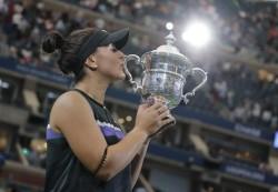Una indomable Andreescu supera a Serena Williams y gana el Abierto de EE.UU.