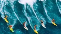 Tokio 2020 pone a punto el surf para su debut olímpico