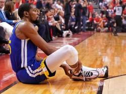 Durant defiende a Warriors y rechaza que tuviesen algo que ver con su lesión