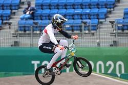 Alfredo Campo logra diploma olímpico para Ecuador en BMX Racing