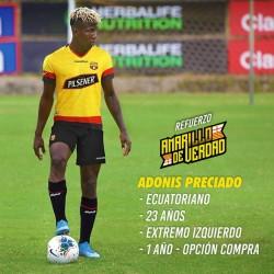 Adonis Preciado fue oficializado por Barcelona