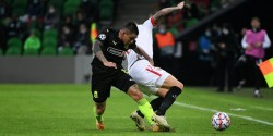 Ramírez, titular en caída de Krasnodar en Champions League