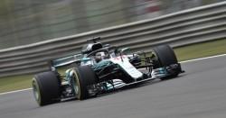 Hamilton, el más rápido en China, satisfecho con las progresiones de su coche