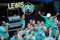 Hamilton se quedó con el Gran Premio de Brasil
