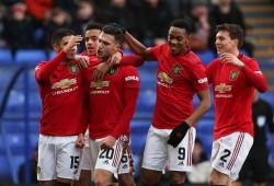 El Manchester United se da un festín a costa del modesto Tranmere