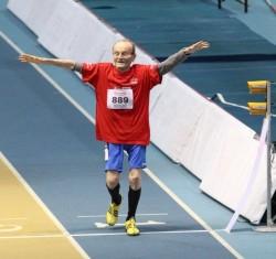 Un italiano de 101 años saltará longitud y triple, correrá 60 y lanzará peso