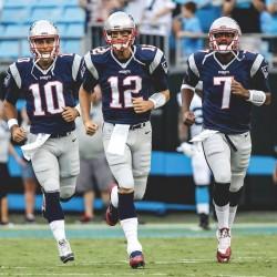 Brady con marca, Patriots invictos; Texans, 53 puntos; Rudolph, conmocionado (Resumen)