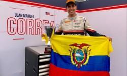 Escudería Alfa Romeo probará a piloto de origen ecuatoriano que brilla en F2