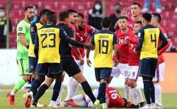 Ecuador tiene tres bajas para medir a Uruguay