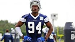 NFL permite a Gregory tener actividades con los Cowboys, pero no jugar