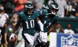 (32-27) Wentz vuelve a la acción y hace la diferencia en triunfo de Eagles