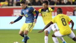 (1-0) Colombia saborea una apretada victoria sobre un entusiasta Ecuador