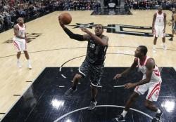(96-89) Aldridge logra doble-doble y mantiene líderes a los Spurs