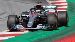 Hamilton domina la primera sesión de entrenamientos en Silverstone