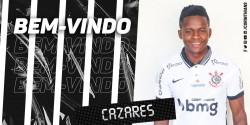 Cazares firma con Corinthians hasta 2021