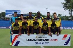 Ecuador se despide del Sudamericano Sub15