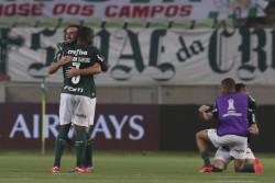 River estuvo cerca del milagro, Palmeiras a la final
