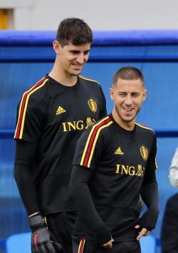 """Courtois y Hazard, jugadores más destacados del Mundial 2018 para """"L'Équipe"""""""