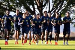 Ecuador, con Orejuela y Valencia en el último entrenamiento antes de debutar