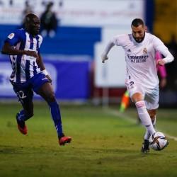 Bochorno de Real Madrid en la Copa del Rey