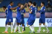 Anotación de Bolaños y Martínez en goleada de Shanghai Shenhua