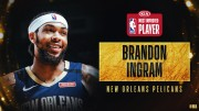 Brandon Ingram gana premio de Jugador de Mayor Progresión en la temporada
