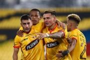 Barcelona golea en casa y lidera su grupo de Copa Libertadores