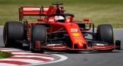 Vettel dominó y Ferrari por delante de Mercedes en el último libre