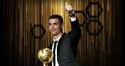 Cristiano Ronaldo gana por sexta vez el premio Globe Soccer a mejor jugador