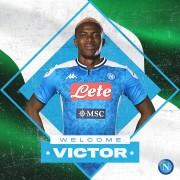 Nápoles hace oficial el fichaje de Victor Osimhen