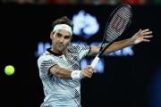 Roger Federer en Quito, este 24 de noviembre