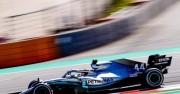 Hamilton fue el más rápido en el último libre en Montmeló; Sainz, décimo