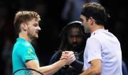 Goffin deja K.O. a Federer y luchará contra Dimitrov en la final