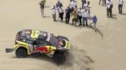 Loeb gana la segunda etapa del Dakar en coches, con 'Nani' Roma segundo