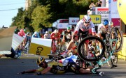 Groenewegen, descalificado; Jakobsen gana la primera etapa en Polonia