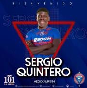 Sergio Quintero reforzará a Olmedo