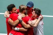 Canadá alcanza la primera final de su historia en la Copa Davis