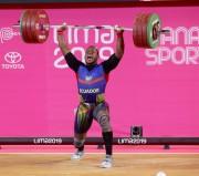 Bronce y récord panamericano para David Arroyo en halterofilia