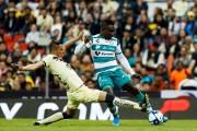 Santos Laguna se tomó el Azteca con asistencia de Erick Castillo